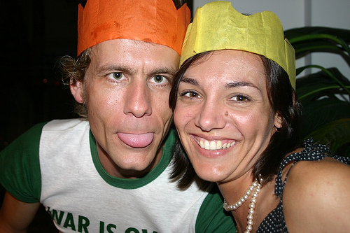 Christmas Cracker Crown