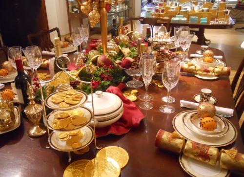 Christmas Fortnum Mason London Dinner Table Setting