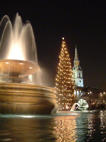 Christmas in London Trafalgar Square Events