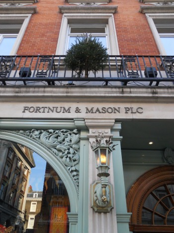 Christmas at Fortnum & Mason in London