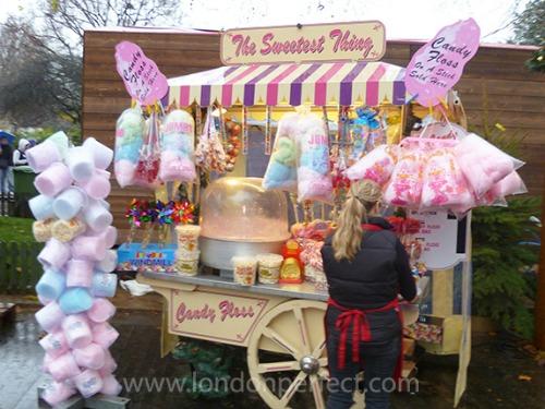 Cotton Candy Winter Wonderland Hyde Park London