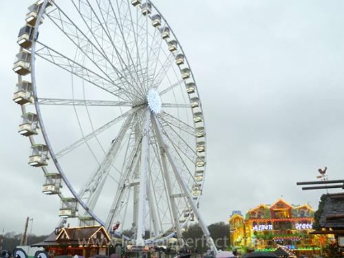 Ferris Wheel Winter Wonderland Hyde Park London