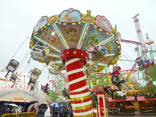 Fun Rides Winter Wonderland Hyde Park London