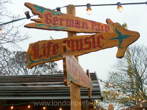 Funny Sign Winter Wonderland Hyde Park London