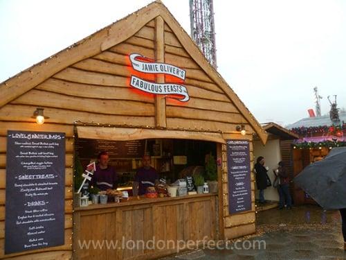 Jamie Oliver Fabulous Feasts Winter Wonderland Hyde Park