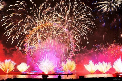 Spectacular Fireworks Display London New Year's Eve