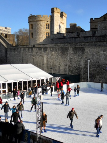 Tower of London Ice Rink 2012