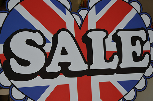 London Shopping Sales  Boxing Day