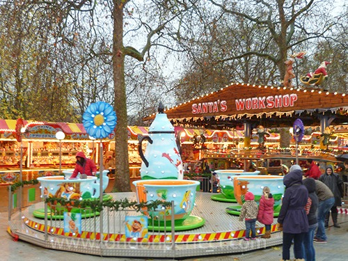 Teacup Ride Winter Wonderland Hyde Park London