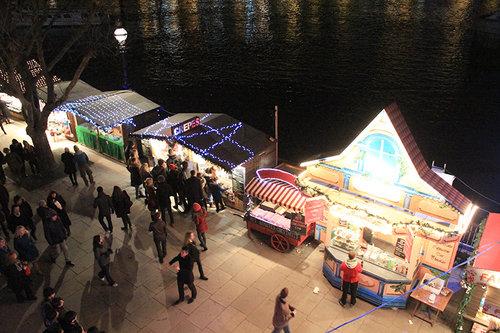 Southbank Christmas Market Stalls