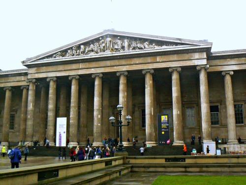 Portico of the British Museum