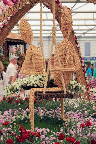 Chelsea Flower Show in London Displays