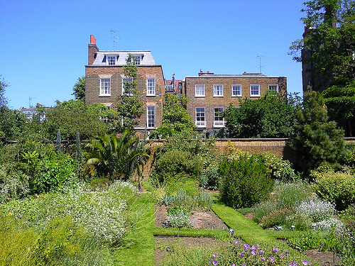 Chelsea Physic Garden in London