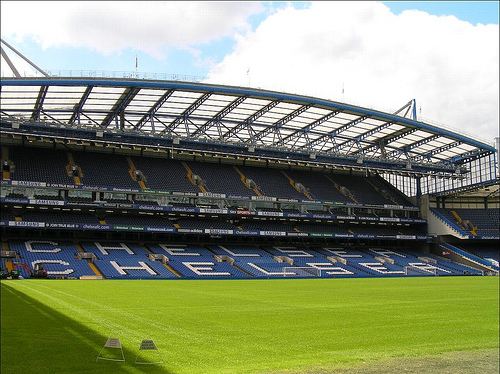 Chelsea Stamford Bridge Stadium London