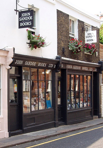 John Sandoe Books Chelsea London