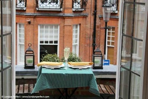 Romantic London apartment Sloane Square London