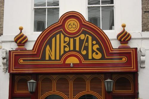 Nikita's Russian Restaurant in Chelsea London