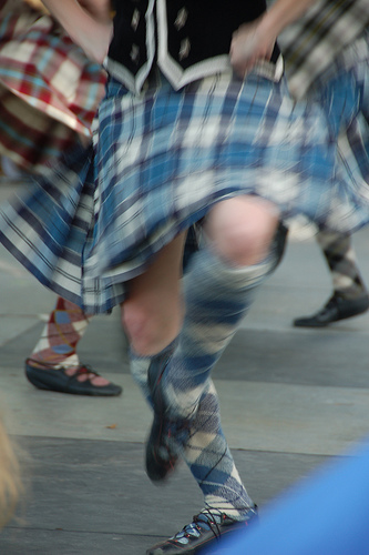 Scottish Dancing Burns Night