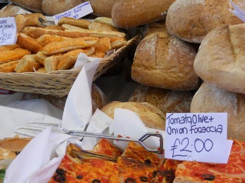 Fresh Baked Bread Portobello Road Market Notting Hill small