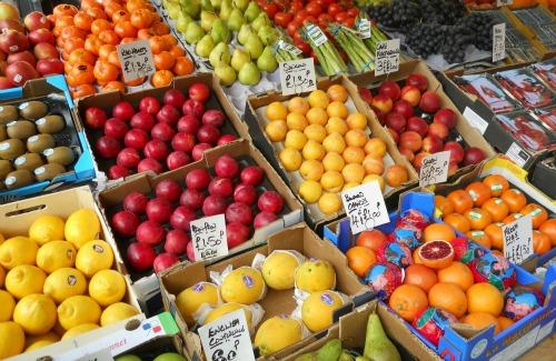Fruit Vendor at Portobello Road Market Notting Hill small