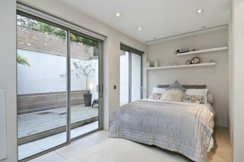 Holland Park Mews Home for Sale Second Bedroom Patio