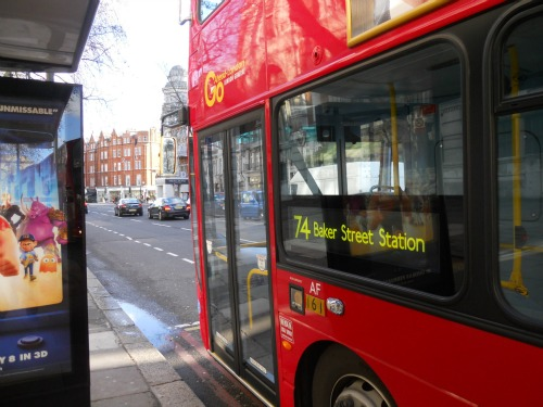 London Bus Oyster Card