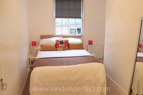 Two Bedroom Vacation Rental in Notting HIll Second Bedroom