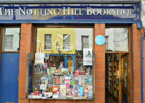 Notting Hill Bookshop where Movie was Filmed small