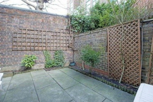 Notting Hill Mews for Sale Private Patio