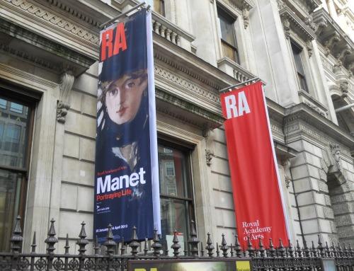 Royal Academy of Arts Manet Portraying Life London