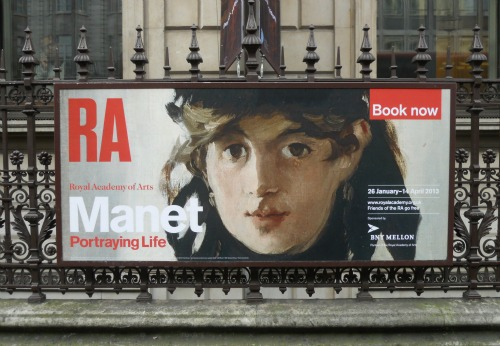 Royal Academy of Arts Manet Portraying Life