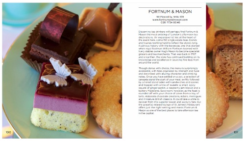 Tea and Cake London Zena Alkayat Fortnum and Mason