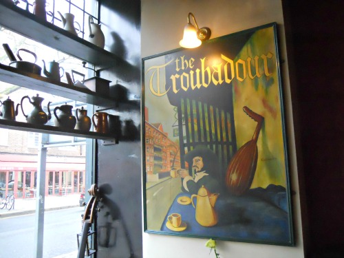 The Troubadour in Earl's Court Interior