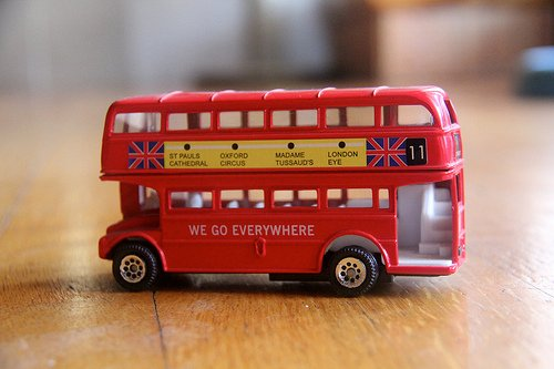 The Best Way to Get Around London – On the Bus!