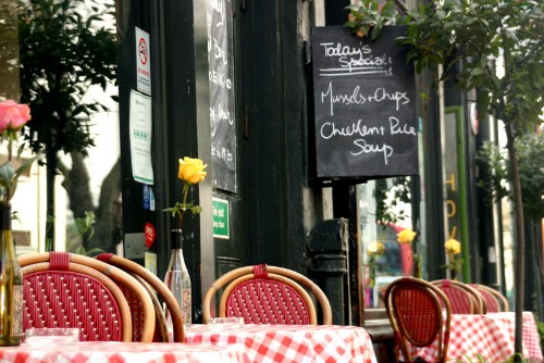 Troubadour Restaurant in Chelsea London
