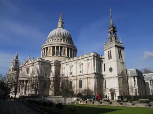 Easter at St Paul's Cathedral London