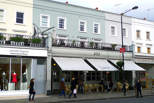 Westbourne Grove London Restaurants