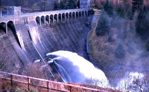 Hydro Electric Dam Scotland