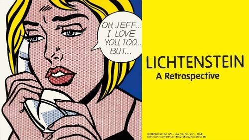 Lichtenstein Retrospective Tate Modern