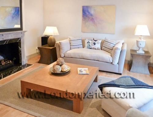 London 3 bedroom mews home vacation rental in Kensington