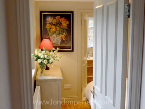 London Perfect Chelsea Vacation Rental Master Bedroom Entrance