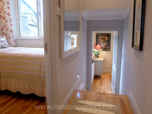 London Perfect Vacation Rental Chelsea Two Bedroom Corridor