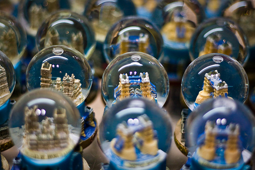 London Souvenir Snow Globes