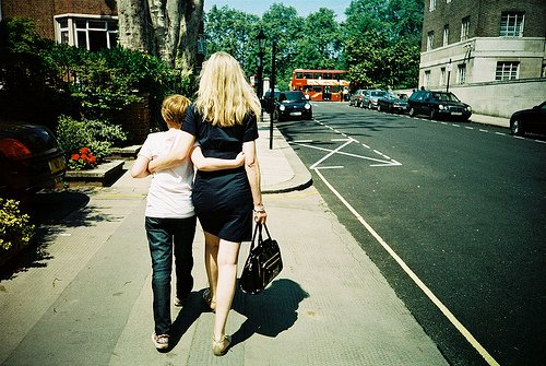 Mothering Sunday in London