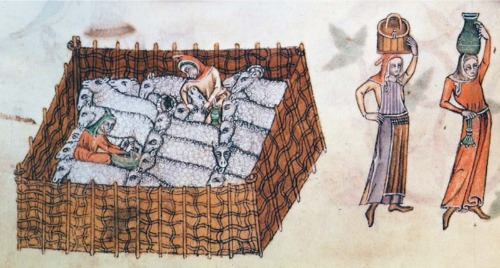 Sheep Pen from Luttrell Psalter