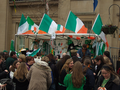St. Patrick's Day Fun in London
