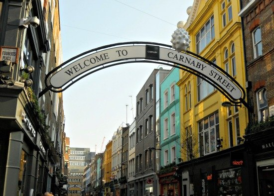 Carnaby 20 percent Shopping Party London