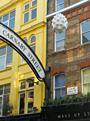 Carnaby Street Shopping Sales London