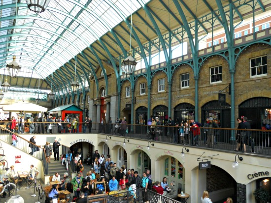 Covent Garden Shopping Restaurants London