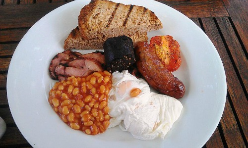 "The Full English Breakfast – aka ""The Fry Up"""